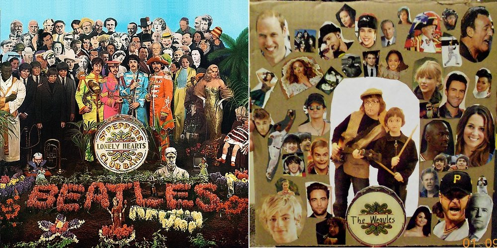 Make Your Own 'Sgt. Pepper'-esque Album Cover